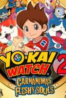 Yo-Kai Watch 2: Carnánimas (Carátula)
