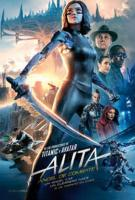 Cartel de Alita: ángel de combate
