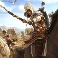 Assassin's Creed Origins - Bayek y Aya
