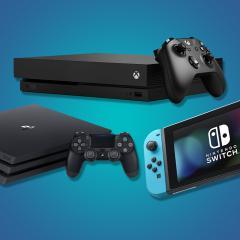 PS4 Xbox One Nintendo Switch