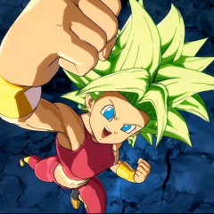 Goku Ultra Instinto y Kefla en Dragon Ball FighterZ