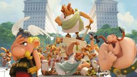 Astérix y la residencia de los dioses