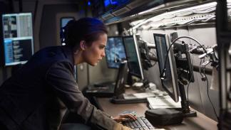 Alicia Vikander en Jason Bourne
