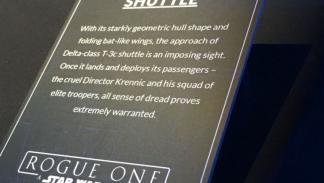 Star Wars Rogue One Lanzadera del Director Krennic