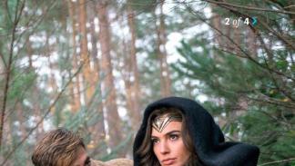 Gal Gadot y Chris Pine en Wonder Woman