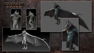 Bat Demon en Conan Exiles