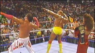 Hulk Hogan en SummerSlam 1989