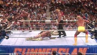 Hulk Hogan en SummerSlam 1991