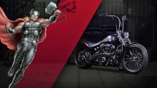 Motocicletas cómics