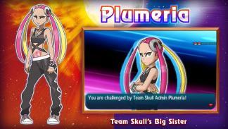 Plumeria Pokémon Sol y Luna