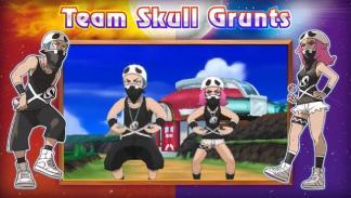 Team Skull Pokémon Sol y Luna