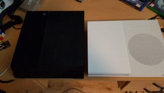 Xbox One S vs PS4