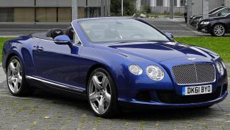 Los coches de Sylvester Stallone: Bentley Continental GTC