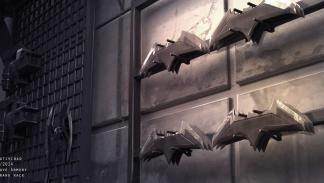 La liga de la Justicia - Batarang