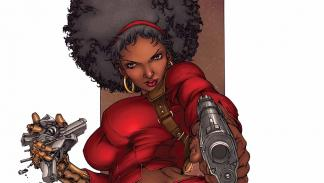 2- El traje rojo de Misty Knight