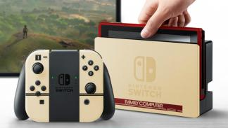 Nintendo Switch con carcasa de Famicom