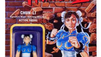 Figuras retro Street Fighter II de Super 7. Chun Li