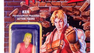 Figuras retro Street Fighter II de Super 7. Ken