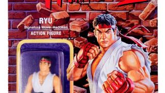 Figuras retro Street Fighter II de Super 7. Ryu