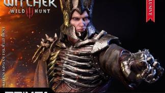 Estatua de Eredin de The Witcher 3: Wild Hunt fabricada por Prime 1 Studios