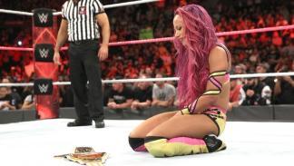 WWE - Sasha Banks Campeona Femenina de Raw