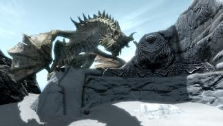 Dragon de Skyrim