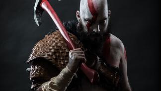God of War para PS4 - Kratos Cosplay