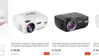 Los proyectores AUN estarán en oferta el 11 del 11 de AliExpress