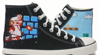 Zapatillas Super Mario Bros