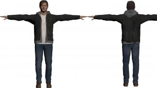 P.T. Silent Hills - Modelo del personaje de Norman Reedus