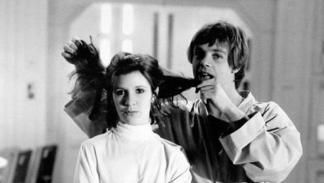 Star Wars: Luke y Leia detrás de cámaras