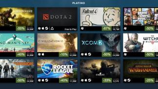 Los 100 juegos más vendidos de Steam en 2016 - Categoría Platino