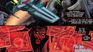 Darth Maul cómic Star Wars