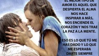 Diario de Noah - Frase de amor