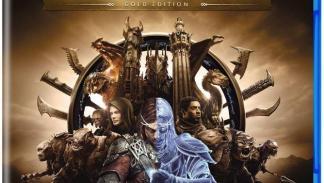 Middle Earth: Shadow of War Gold Edition - Carátula en PS4