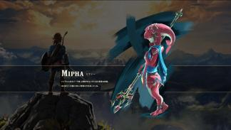 Mipha en The Legend of Zelda Breath of the Wild