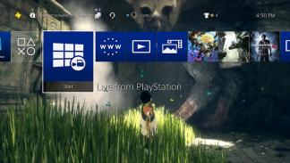 PS4 actualización 4.50 del software del sistema