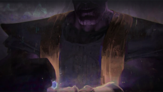 Concept-art, Thanos, MArvel