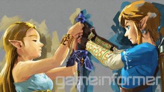 Zelda Breath of the Wild - Portada en Gameinformer