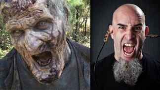 Famosos en The Walking Dead
