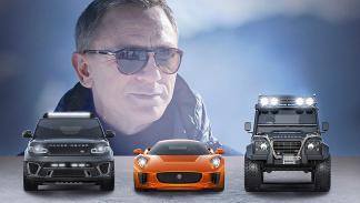 Jaguar, Range Rover, Land Rover... Bond vuelve en 'Spectre' por sus fueros britá