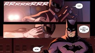 Liga de la Justicia - Power Rangers #1