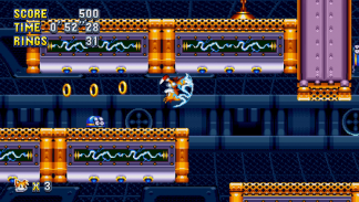 Sonic Mania - Flying Battery Zone Act 1