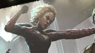 Skrulls, Capitana MArvel, Brie Larson, Comic-Con 2017