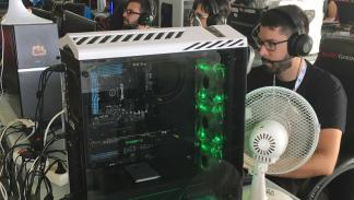 PC gaming Tenerife Lan Party 2017