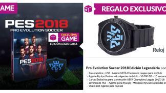 PES 2018 en GAME