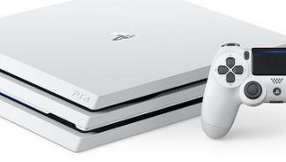 PS4 Pro Glacier White