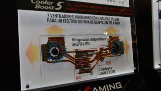Cooler Boost 5 de MSI - esports