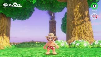 Casa de Yoshi en Super Mario Odyssey