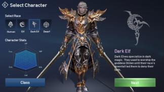 Lineage 2 Revolution - Elfos Oscuros